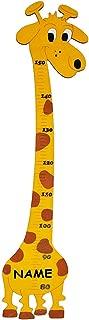 Kinderzimmer Holzme/ßlatte Kind Tier Tiere Unbekannt Me/ßlatte Messlatte Kin.. Namen Messbereich von 80 cm bis 150 cm // f/ür Kinder aus massiven Holz Giraffe incl