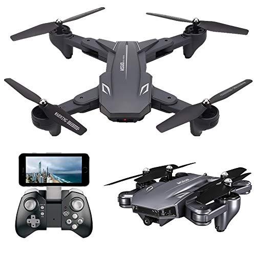 Teeggi VISUO XS816 FPV Drohne mit Kamera 4K HD WiFi Live Übertragung Faltbare RC Quadrocopter für Kinder Anfänger 120°Weitwinkel/KopflosModus/Höhe Halten/3D Flips/Gravitationssensor/APP-Steuerung