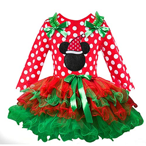 Shenyan Fancy New Year Baby Girl Carnival Santa Dress for...