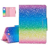 YiCTe Colorful Painting Portefeuille Tablette Housse en cuir PU pour Samsung Galaxy Tab E 9.6'...