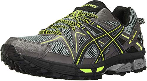 ASICS Men's Gel-Kahana 8 Trail Running Shoe, Carbon/Black, 11.5 M US