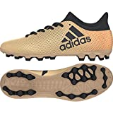 Adidas X 17.3 AG, Botas de fútbol para Hombre, Amarillo (Ormetr/Negbas/Rojsol 000), 44 2/3 EU