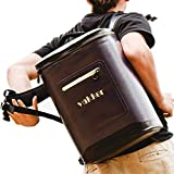 VAKKER Insulated Cooler Backpack, 3 Days Ice Life Leakproof Cooler Bag, Waterproof, Dustproof Portable Soft Cooler Bag, Lunch Box for Camping, Outdoor Hiking, Travel, Picnic (24 Cans, Navy Blue)
