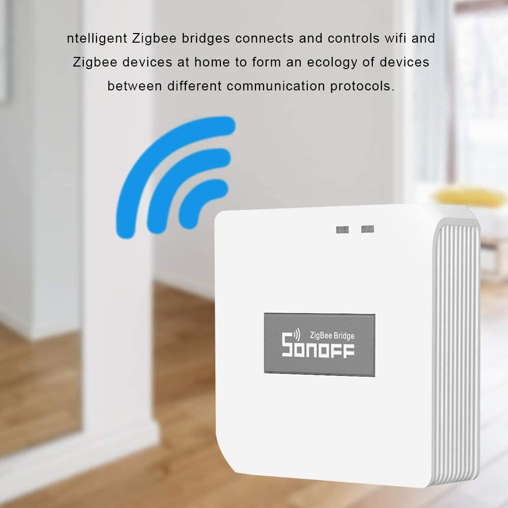 Kshzmoto Ponti multifunzione ZigBee Wifi intelligente Rilevamento remoto di porte e finestre per temperatura e umidit/à umana Ponti Zigbee Interruttore wireless Sensore di temperatura e umidit/à Sensore