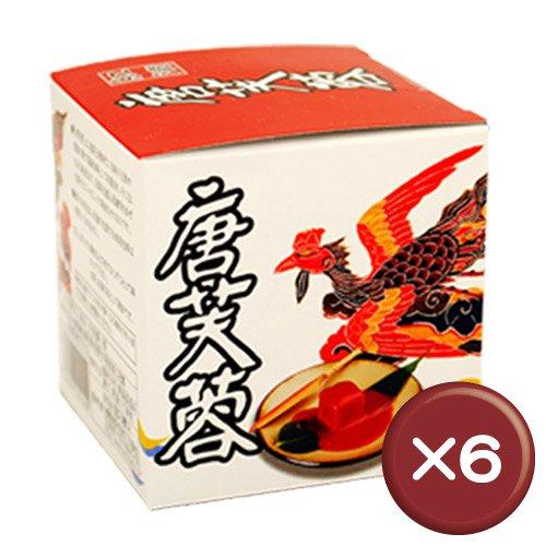 紅濱の唐芙蓉(豆腐よう) 5個瓶(紅) 6本セット