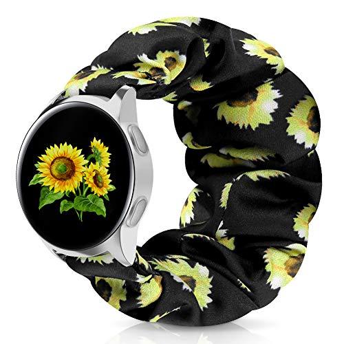Zoholl - Correa elástica para reloj de moda para mujeres y niñas, 20 mm, diseño de búho suave y cozy búho