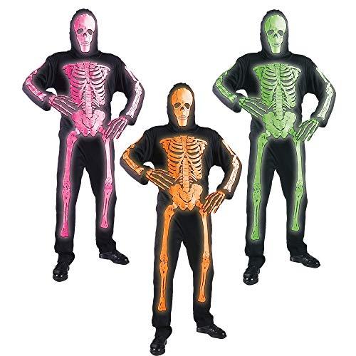 Nero//Neon Giallo Taglia 6//7 SHOT Costume Kid Devo Ultimate