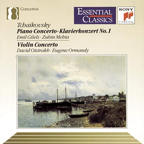 Tchaikovsky: Piano Concerto No. 1 / Violin Concerto (Essential Classics)