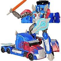 19 センチメートル変換車ロボットおもちゃバンブルビーオプティマスプライムメガトロンディセプティコンジャズコレクションアクションフィギュアギフト子供のための
