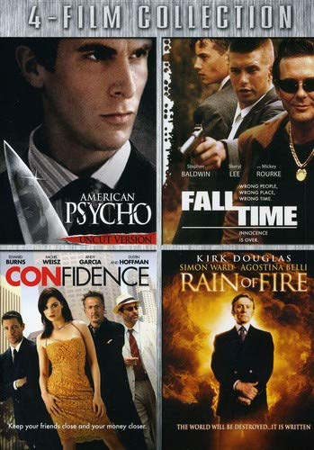 American Psycho & Fall Time & Confidence & Rain Of [DVD] [Region 1] [NTSC] [US Import]