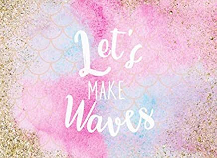 Let's Make Waves: Mermaid Themed Guest Book | For Weddings, Showers and Birthday Parties | 250 guests and their messages