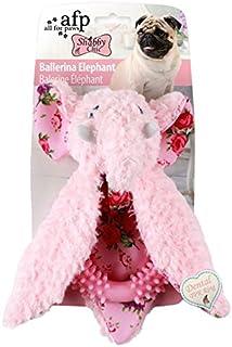 ALL FOR PAWS Shabby Ballerina Elephant Dog Toy