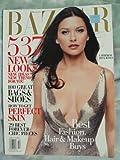 Harper s Bazaar Magazine October 2003, Catherine Zeta-Jones on cover, 537 new looks, 100 Great Bags & Shoes, How to get perfect skin