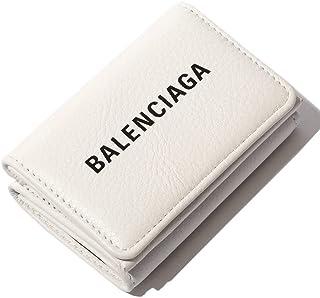 (バレンシアガ) BALENCIAGA レザー エブリデイ ロゴ 三つ折り ミニ財布 [BC551921DLQ4N] [並行輸入品]