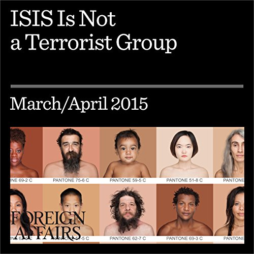 ISIS Is Not a Terrorist Group audiobook cover art