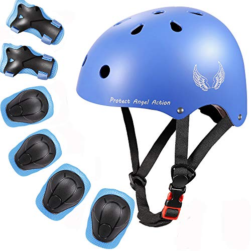Orieta Kids Bike Helmet Toddler Helmet Adjustable Kids Helmet CPSC Certified Ages 3-10 Years Boys Girls Multi-Sport Safety Cycling Skating Scooter Helmet