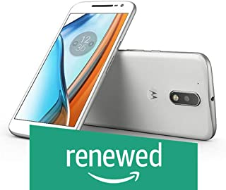 (Renewed) Motorola G4 XT1624 (White, 16GB)