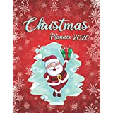 Christmas Planner 2020: Everything you need for an organised Christmas, budget tracker, gift list, online order tracker, Black Friday preparation, menu planners, gift lists