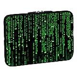 Pedea Design Schutzhülle Notebook Tasche (15,6 Zoll, Matrix)