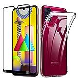 Lifeacc für Samsung Galaxy M31 Hülle & 3D Panzerglas