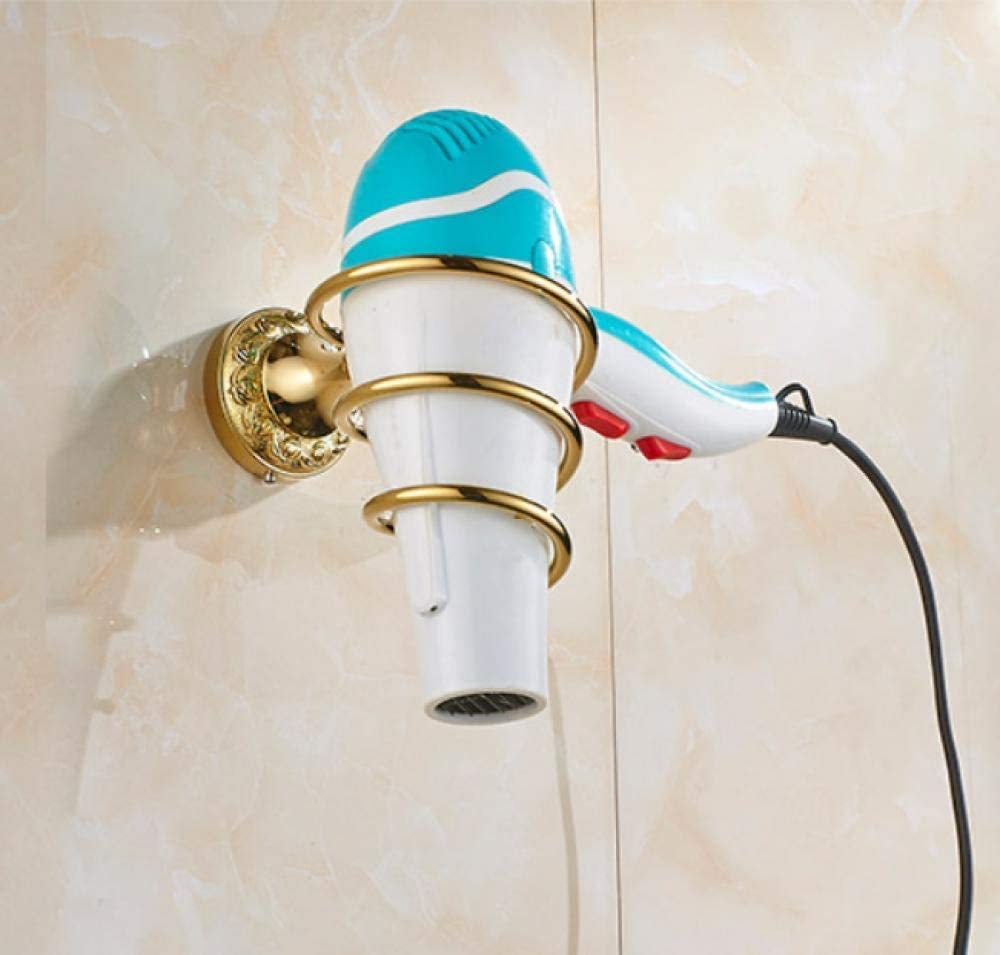 LIMEI-ZEN Bathroom Gold Selling rankings Copper Hair air Bracket Finally resale start Frame Tube Dryer