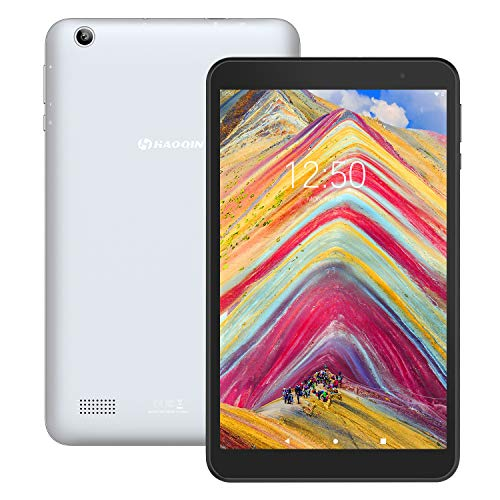 tablet 8 pollici 3g Tablet 8-Pollici Android 9.0 32GB - HAOQIN H8 Pro Tablet PC 2GB RAM Quad Core HD IPS Display WiFi Bluetooth Google Certified (Grigio)