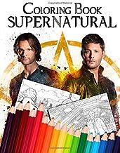 Supernatural Coloring Book: Adult Coloring Book