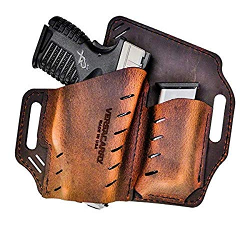 Versacarry GM3BRN Guardian Holster OWB with Spare Mag....