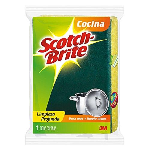fibra verde para lavar trastes fabricante 3M Scotch-Brite