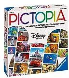 Ravensburger 26292 Pictopia-The Picture Trivia Juego para niños y Adultos a Partir de 7 años Cualquier Fan de Disney