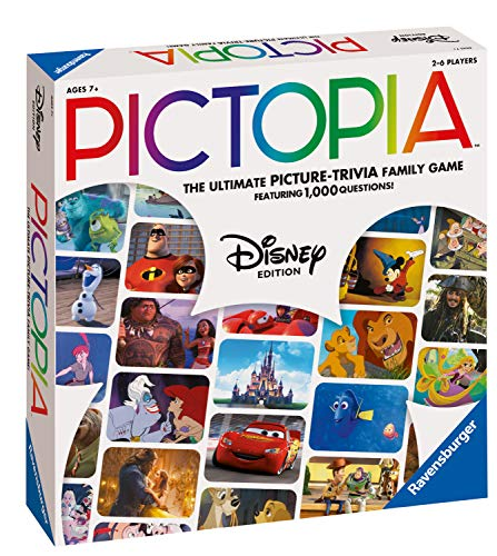 Ravensburger 26292 Pictopia Disney Edition-The Picture Trivia Game,
