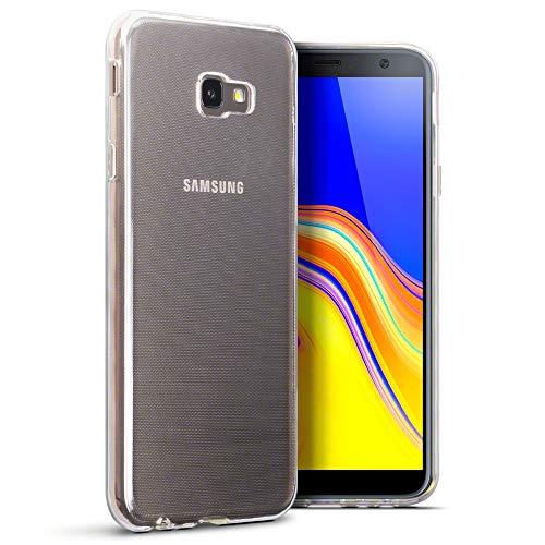 TERRAPIN, Kompatibel mit Samsung Galaxy J4 Plus 2018 Hülle, TPU Schutzhülle Tasche Hülle Cover Samsung Galaxy J4 Plus 2018 Handyhülle - Transparent