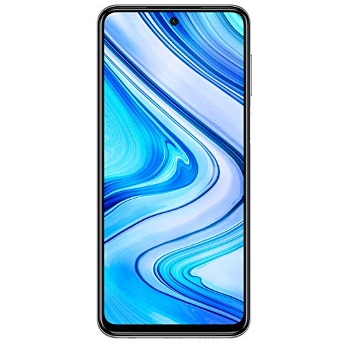 Redmi Note 9 Pro Max (Aurora Blue, 6GB RAM, 128GB Storage) - 64MP Quad Camera & Latest 8nm Snapdragon 720G | with 12 Months No Cost EMI