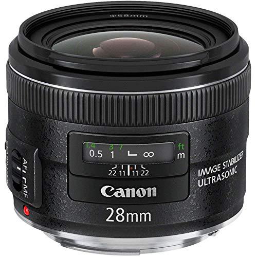 Canon EF 28mm f/2.8 IS USM Wide Angle Lens - Fixed (Renewed) lente de proyección
