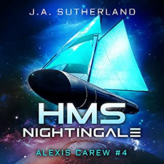 HMS Nightingale     Alexis Carew, Book 4              By:                                                                                                                                 J.A. Sutherland                               Narrated by:                                                                                                                                 Elizabeth Klett                      Length: 14 hrs and 4 mins     344 ratings     Overall 4.7