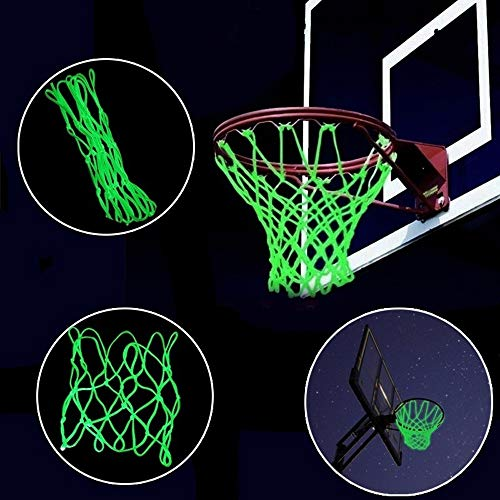 Home Decor for Living Room, Visible at Night Luminous Basketball Net Outdoor Sports Accessories Sporting Gn