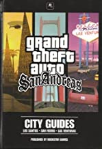 grand theft auto san andreas city guides (with CD game)