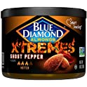 Blue Diamond Xtremes Ghost Pepper Flavored Almonds, 6 Ounce