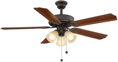 Hampton Bay Gazebo Ii 52 In Indoor Outdoor Weathered