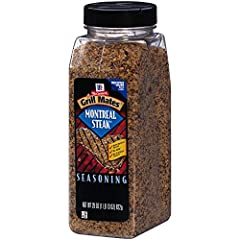 Montreal Steak Seasoning Flavor you can see Kosher Great flavor for steaks and burgers