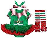 FANCYINN Vetidos Navidad Niña Tutu Falda Conjuntos Ropa Bebe Set Leggins