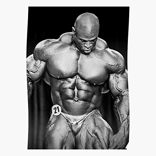 Fitness Bodybuilding Coleman Olympia Mr Ronnie Home Decor Wall Art Print Poster 11.7 x 16.5 inch