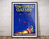 AZSTEEL Great Gatsby Poster - The Great Gatsby Print/Great
