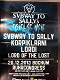 Subway To Sally - Bochum 2013 - Veranstaltungs-Poster A1-37