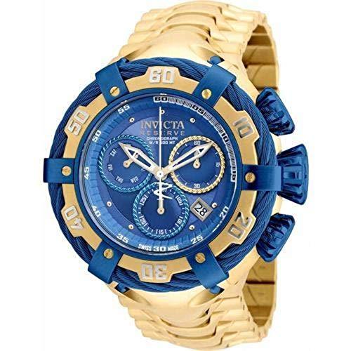 Relógio Invicta Bolt Modelo 21361 Dourado/Azul