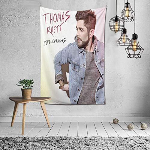Tapiz de Thomas Rhett Life Changes para Colgar en la Pared, tapices artísticos, decoración para Dormitorio, Sala de Estar, Dormitorio