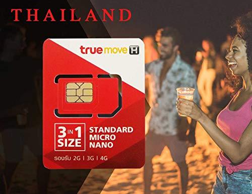 PrePaid 3-in-1 Thailand Reise-SIM-Karte, 3 GB LTE, Daten + 100 Minuten für 8 Tage (Standard, Micro und Nano)