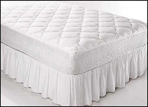 Bombing free shipping Best Products Fitted Easy-to-use Quilted Three Full - Quarter Cover Mattress