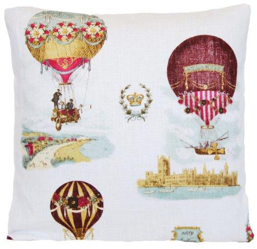 Air Ballons Housse de coussin style vintage Couvre-lit Taie d'oreiller impressions de la nature Ballon Race Montgolfiere Simoni