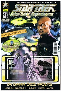 Star Trek 4, Im Bann des Wolfs , Dez 2000 , (Dino Comics) Comic-Heft